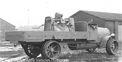 Scania 3 ton truck 1918 (Side view, right side)