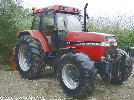 Case IH Maxxum 5140, 4 x 4, 12V, D  (Front view, right side)
