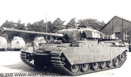Centurion Mk III (Front view, left side)