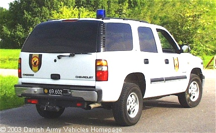Chevrolet Tahoe, 4 x 4, 12V (Rear view, right side)