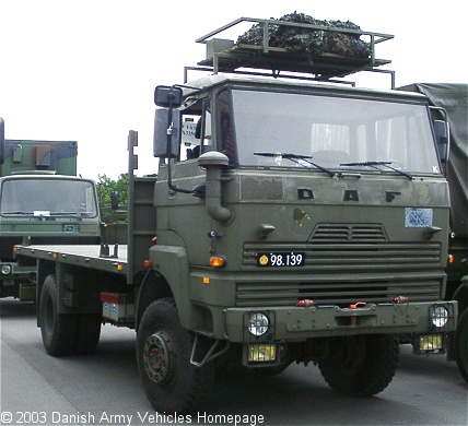 DAF YA 5442, 4 x 4, 24V (Front view, right side)
