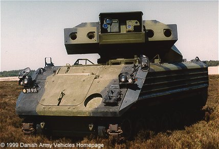 Elevated TOW system (ETS) mounted on M113 APC