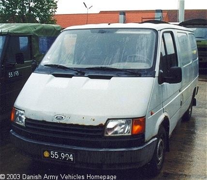 Ford Transit (Front view, left side)