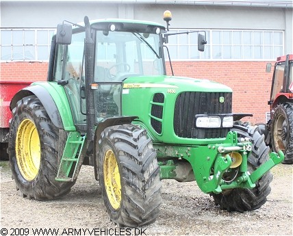 John Deere 6630, 4 x 4, 12V, D (Front view, right side)