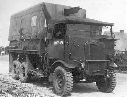 Leyland Retriever WLW, 6 x 4 (Front view, right side)