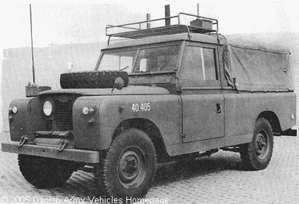 Landrover 109, S II, 4 x 4, 12 V (Front view, left side)