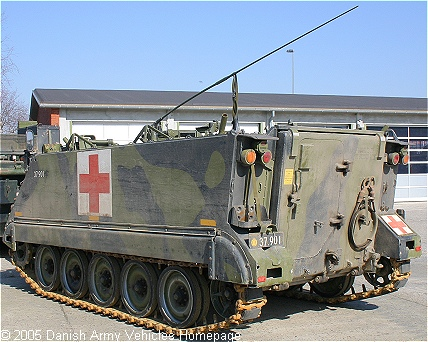 M113 Ambulance (Rear view, left side)