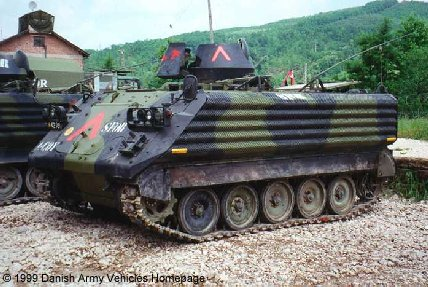 M113A1 with Add-On-Armour (Front view, left side)