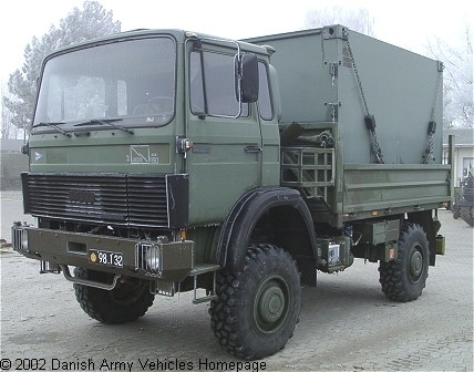 IVECO Magirus 75-13 AWM, 4 x 4, 24V (Front view, left side)