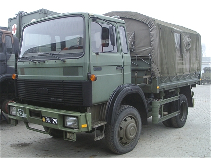 IVECO Magirus 80-13 AM, 4 x 2, 24V (Front view, left side)
