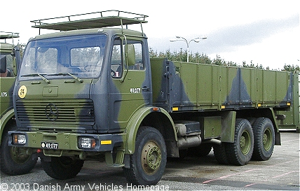 Mercedes 2626, 6 x 4, 24V, D (side view, left side)