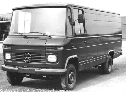 Mercedes 608/35/65, 4 x 2, 12V, D (Front view, left side)