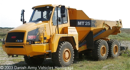 MOXY MT 25, 6 x 6, 12V, D (Front view, left side)