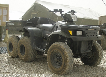 Polaris Sportsman 500, 6 x 6, 12 (Front view, right side)