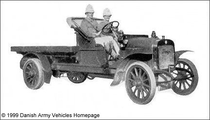 Thrige Truck 1914 (Front view, right side)
