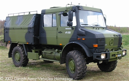 Unimog L1550/37, 4 x 4, 24 V, D (Front view, right side)