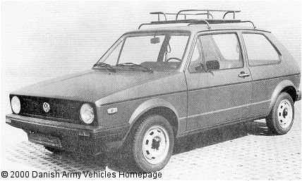 VW Golf, 4 x 2, 12 V, D (Front view, left side)