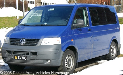 VW T5, 4 x 2, 12V, D (Front view, left side)