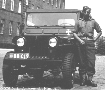 Willys CJ3A, 4 x 4, 6V (Front view, left side)