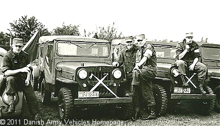 Willys Cj-3B, 4 x 4, 6V (Front view, right side)